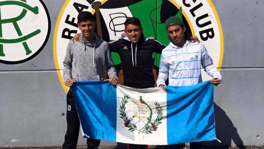 Futbolistas guatemaltecos en España