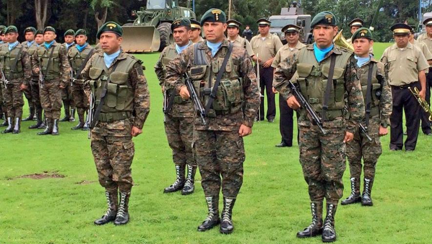El 30 de junio se celebra en Guatemala el Día del Ejército. (Foto: Gobierno de Guatemala)