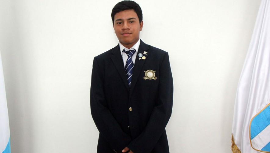 Pablo Castellanos, golfista guatemalteco