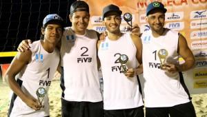 Recientemente Julio y Luis vienen de ganar el segundo lugar en Santa Lucía. (Foto: Afecavol)
