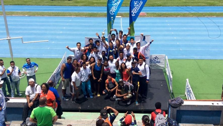 Guatemala, campeón del Centroamericano de atletismo 2016