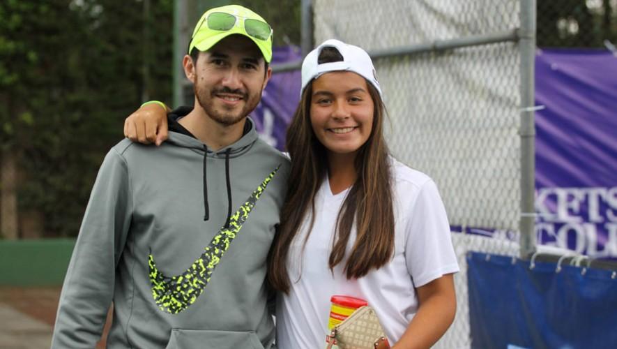Rut Galindo, tenista guatemalteca