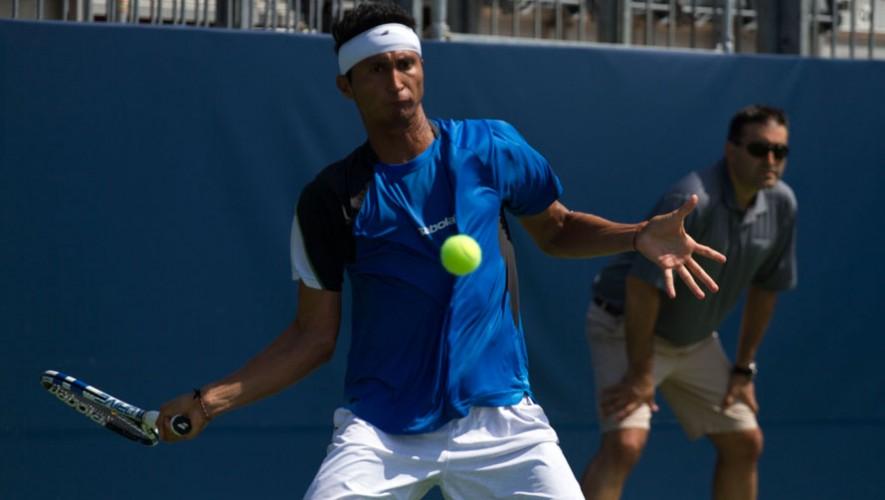 Christopher Díaz, tenista guatemalteco
