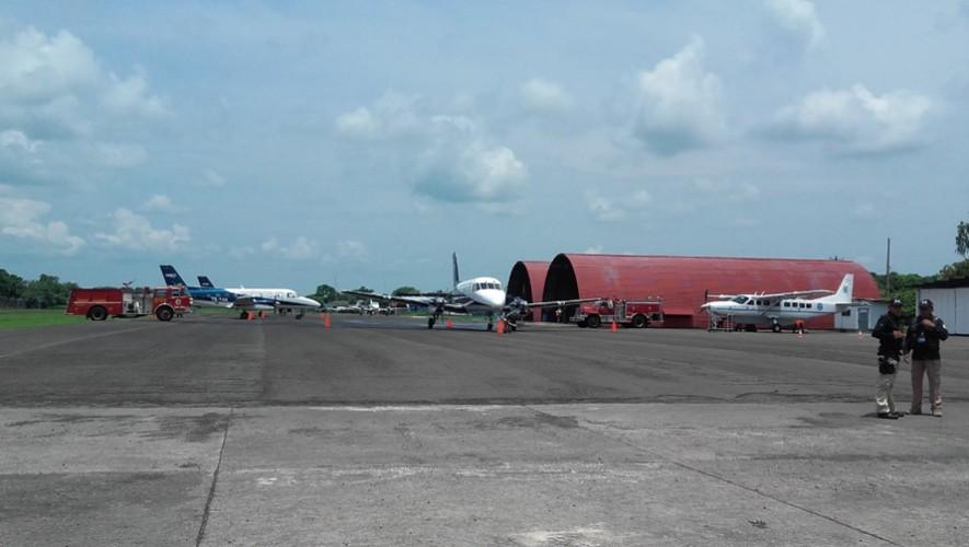 Los vuelos domésticos ya pueden llegar a Retalhuleu. (Foto: Inguat_Prensa)