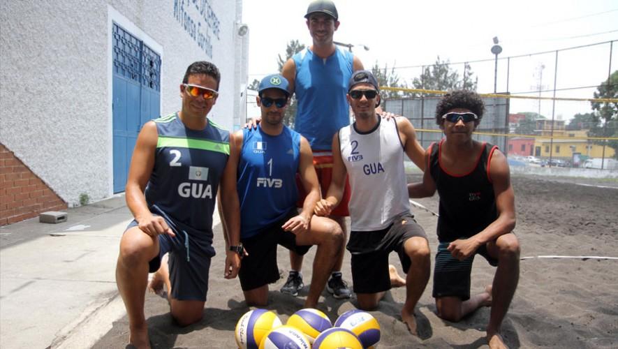 Equipo guatemalteco de voleibol de playa