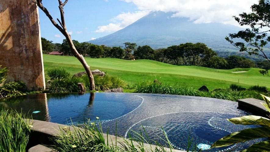 La piscina privada de las habitaciones de La Reunión en Antigua Guatemala fue elegida como una de las mejores del mundo. (Foto: La Reunión Golf Resort & Residences)