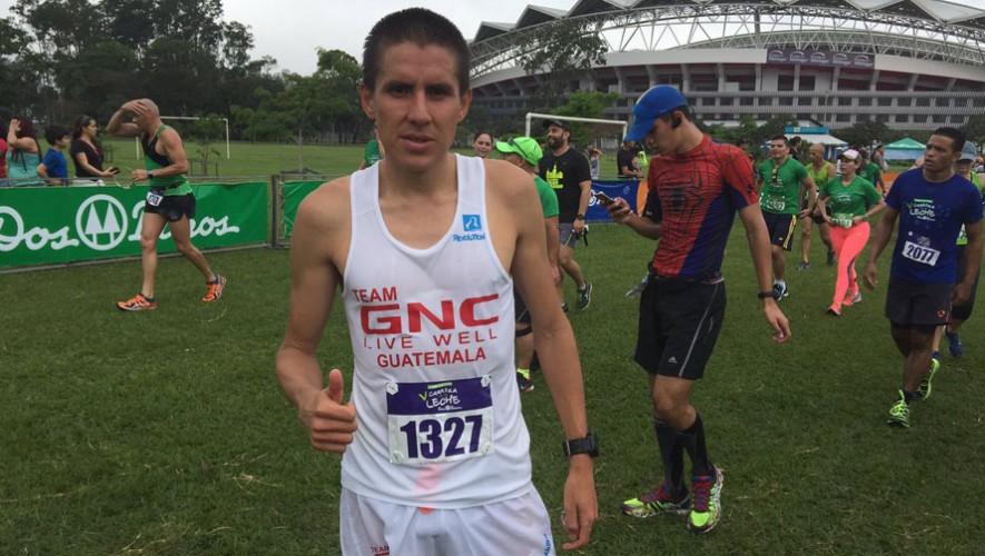 Luis Rivero, atleta guatemalteco