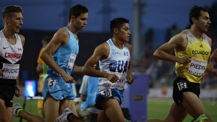 Mario Pacay, atleta guatemalteco