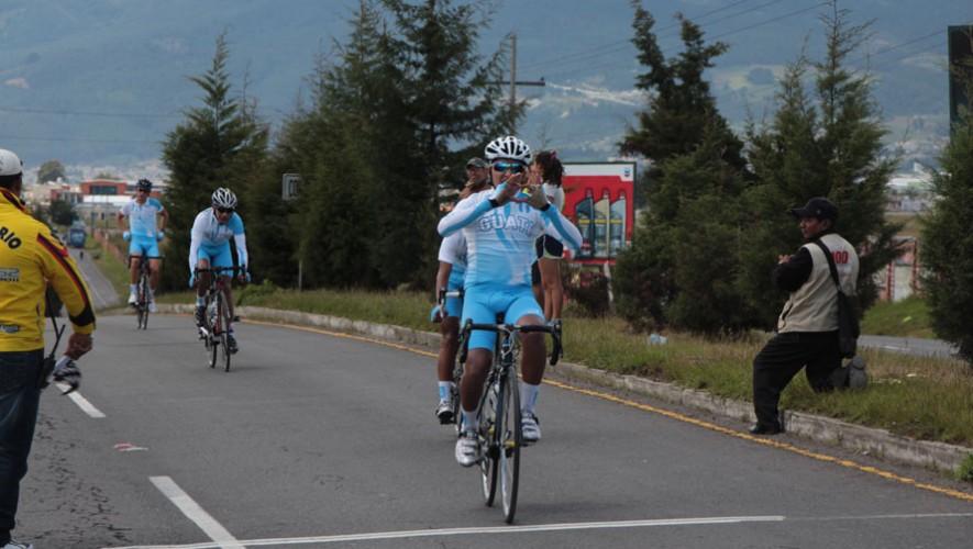 Melvin Borón, ciclista guatemalteco