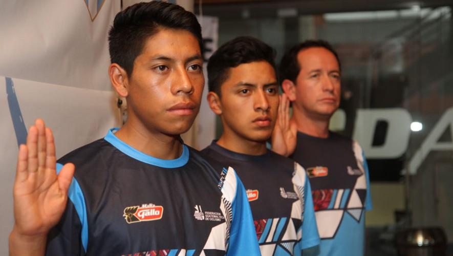Ciclistas guatemaltecos