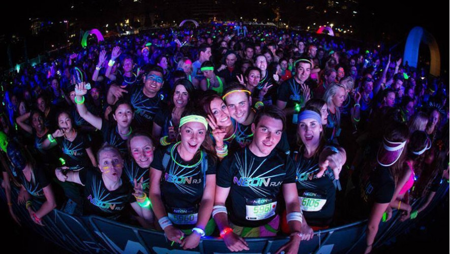 Neon Run Xela | Junio 2016