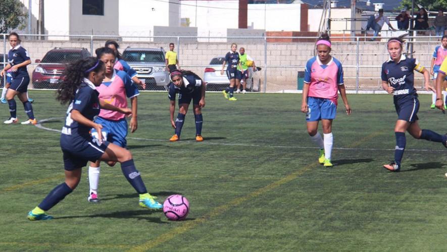 Partido de ida de Sacachispas vs. UNIFUT por la final del Torneo Clausura Femenino | Julio 2016