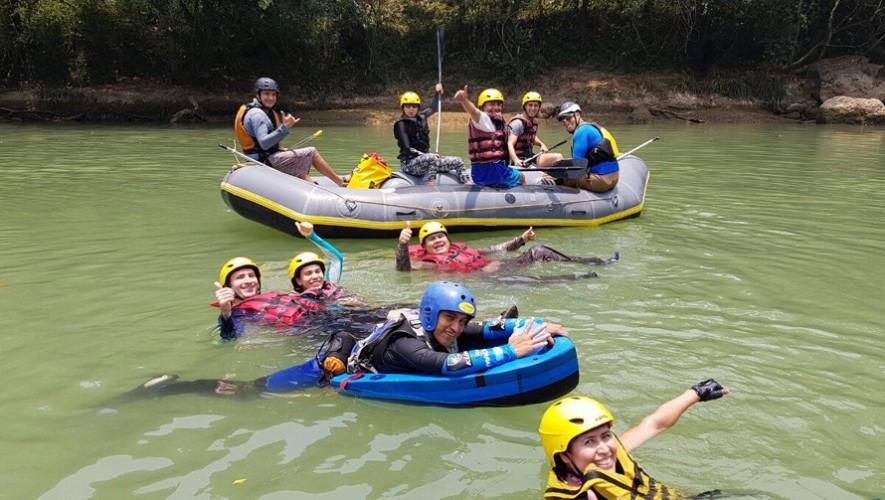 Rafting en Río Ocosito Guatemala   Agosto 2016