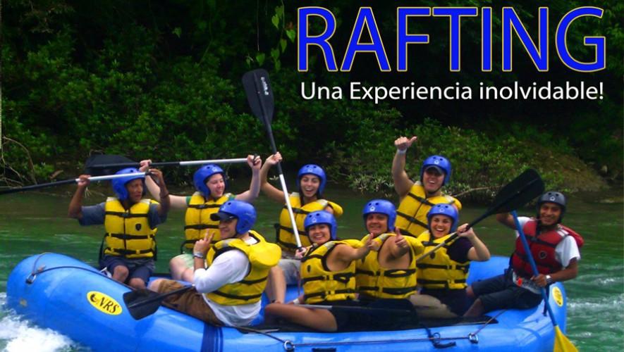 Rafting en Río Cahabón y tour por Semuc Champey   Julio 2016