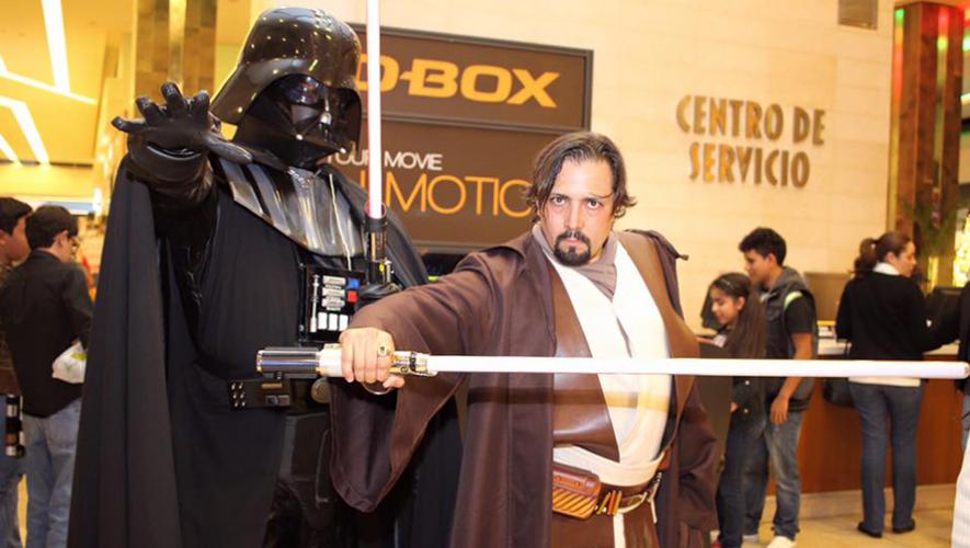 La Mega-Con 2016 es el evento de Star Wars más grande de Guatemala. (Foto: Tigo Guatemala)