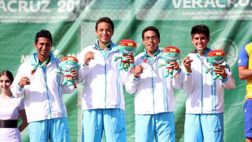 Tenistas guatemaltecos en Juegos Centroamericanos y del Caribe 2014