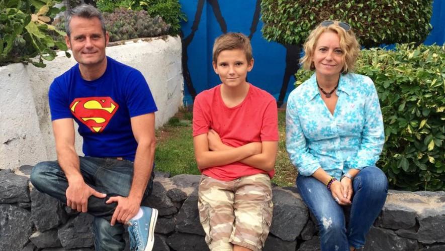 La familia de origen español se encuentra actualmente en Guatemala. (Foto: Unmundopara3)