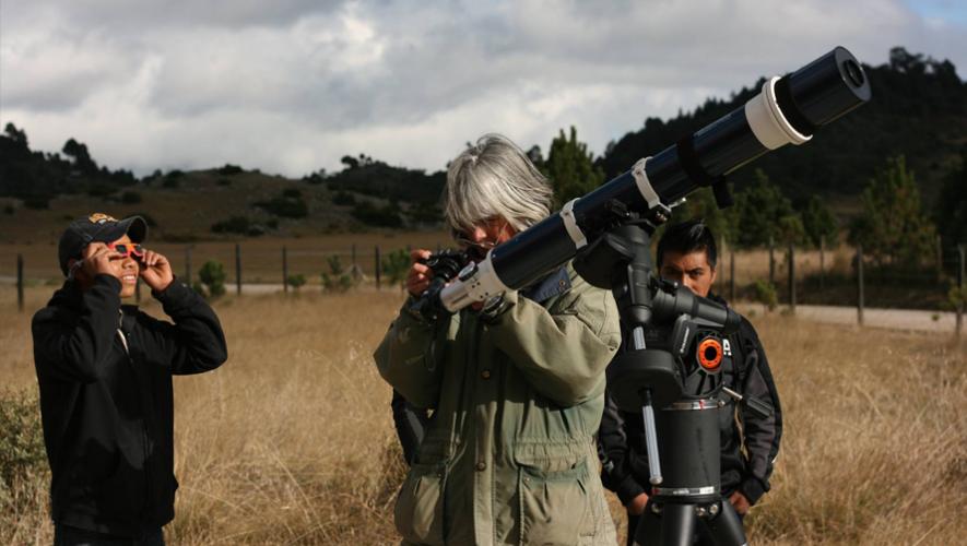 Conferencia de astrofotografía en Guatemala   Junio 2016