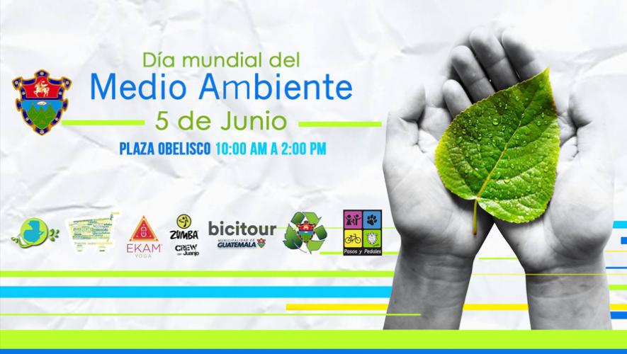 Celebra el Día Mundial del Medio Ambiente en Guatemala con muchas actividades ecológicas. (Foto: Municipalidad de Guatemala)