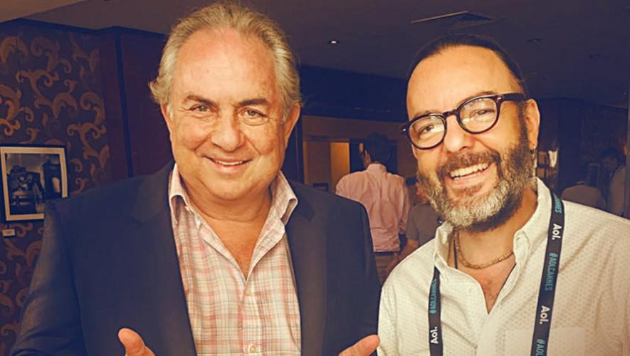 Ramiro Eduardo y Juan Mauricio Wurmser de la empresa Ogilvy & Mather Guatemala. (Foto: Ogilvy & Mather Guatemala )