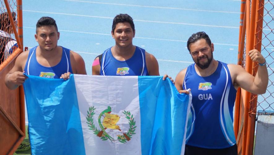 El equipo de lanzamiento también destacó en el campeonato. (Foto: Federación Nacional de Atletismo)