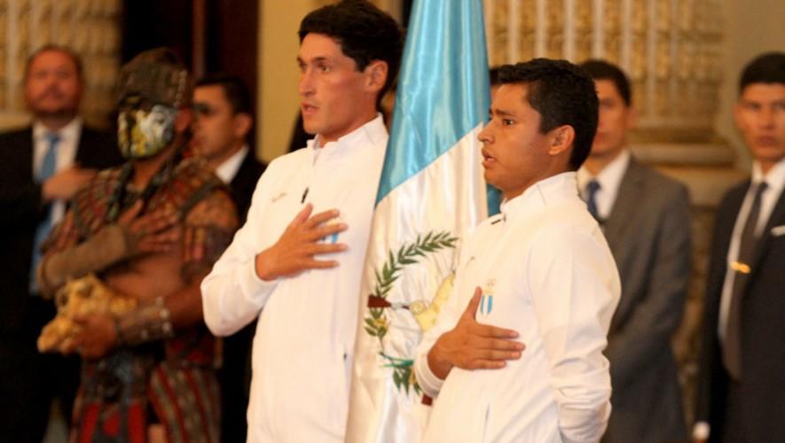 Erick Barrondo, atleta guatemalteco