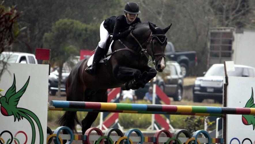 Andrea Schorpp, atleta guatemalteca