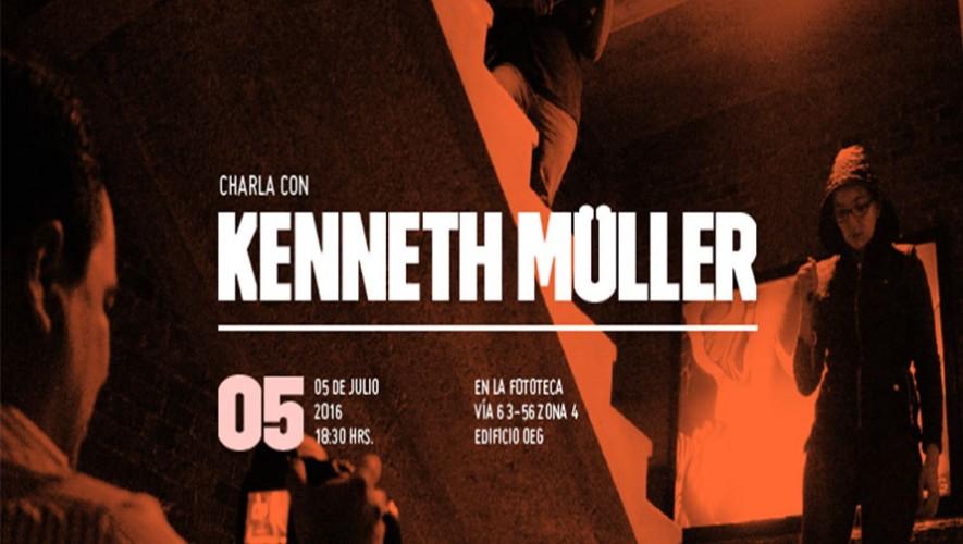 Charla con Kenneth Müller sobre el lenguaje cinematográfico del suspenso | La Fototeca