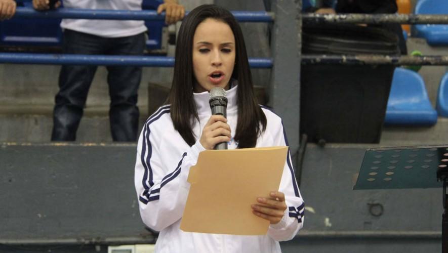 Elizabeth Zamora, atleta guatemalteca