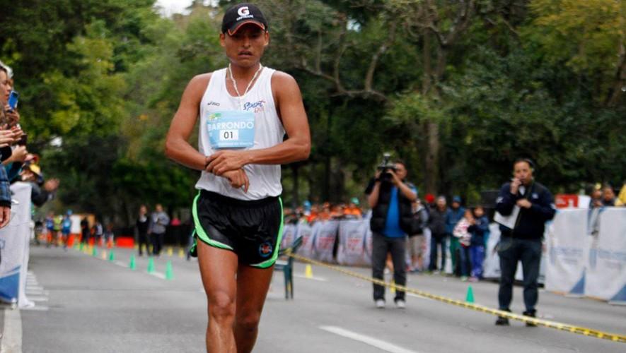 Erick Barrondo, marchista guatemalteco