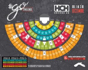 Mapa de asientos Hechos 29 2016