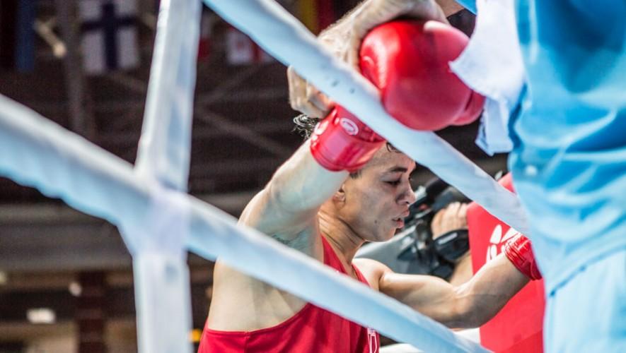 Juan Reyes, boxeador guatemalteco