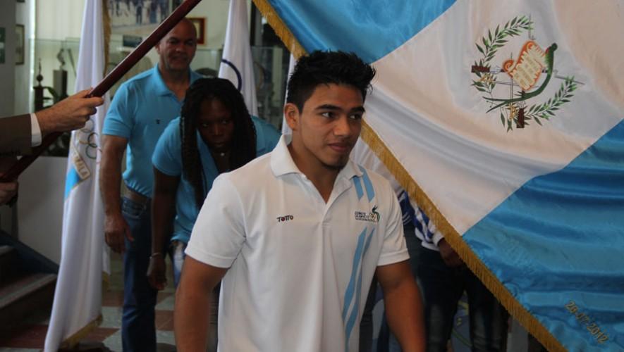 José Ramos, judoca guatemalteco