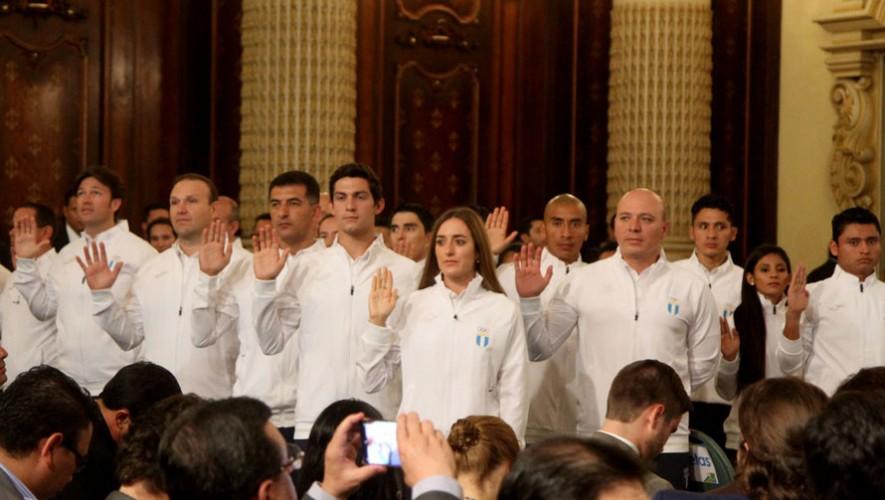 Delegación Guatemalteca para Río 2016