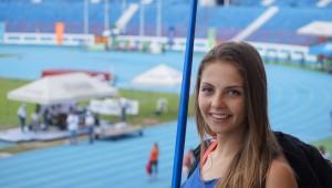 Sofia Alonso, atleta guatemalteca