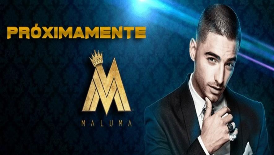 Concierto de Maluma en Guatemala | Septiembre 2016
