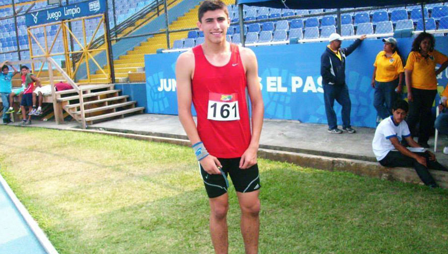 Mauricio Galindo, atleta guatemalteco