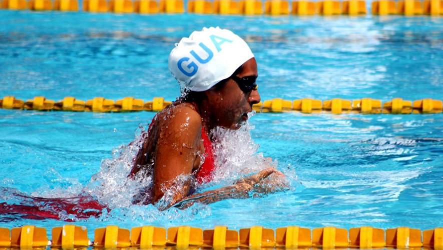 Equipo de Guatemala de natación