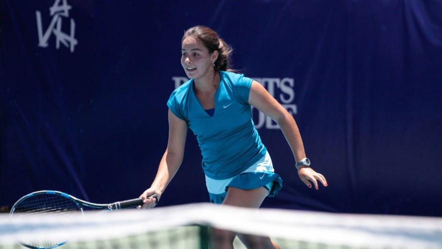 Ruth Galindo, tenista guatemalteca