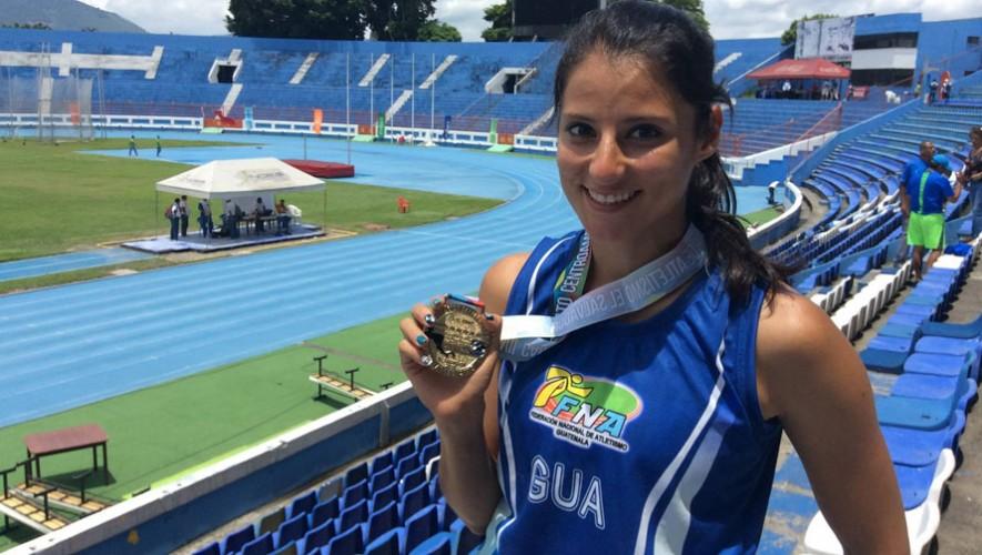 Thelma Fuentes, atleta guatemalteca