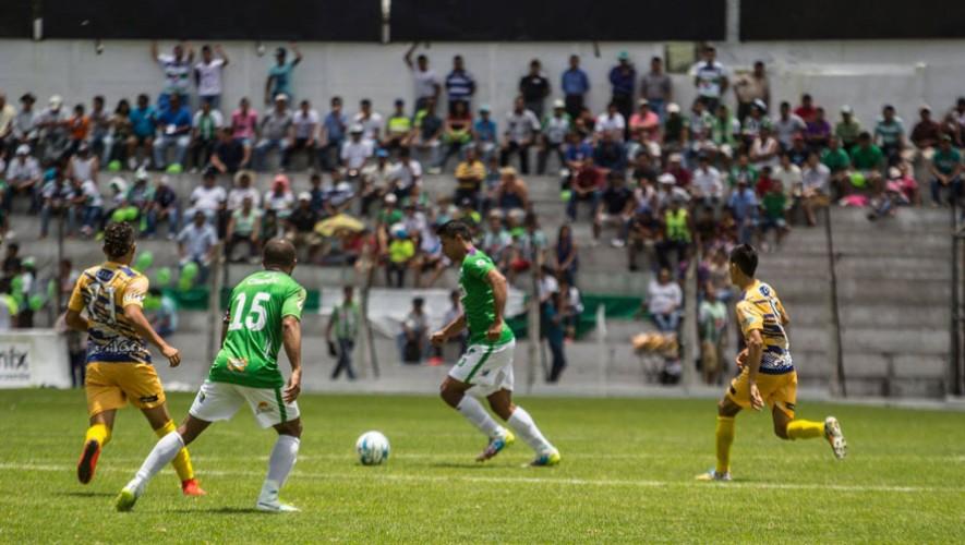 Partido de Antigua vs Suchitepéquez, por el Torneo Apertura | Julio 2016