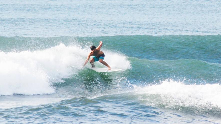 La playa El Paredón es ideal para practicar surf en Guatemala. (Foto: Asosurf Guatemala)
