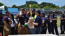 Guatemalteco obtiene el primer lugar en el Desafío de Bomberos Costa Rica 2016