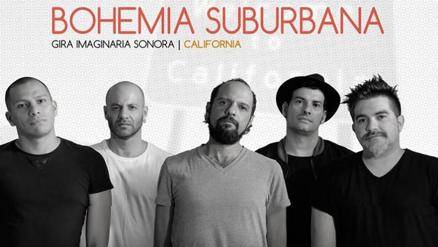 La agrupación guatemalteca Bohemia Suburbana se presentará en California, en agosto. (Foto: Bohemia Suburbana)