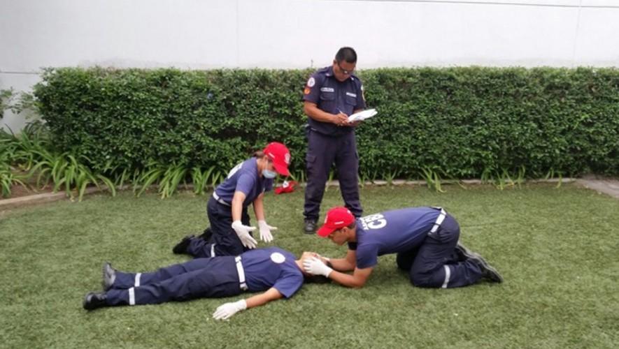 Conviértete en un Bombero Municipal en la Ciudad de Guatemala. (Foto: Cuerpo de Bomberos Municipales)