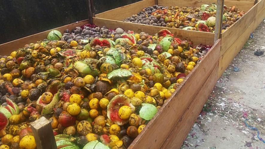 Crearon en Guatemala el primer centro de acopio de desechos orgánicos. (Foto: Municipalidad de Guatemala)