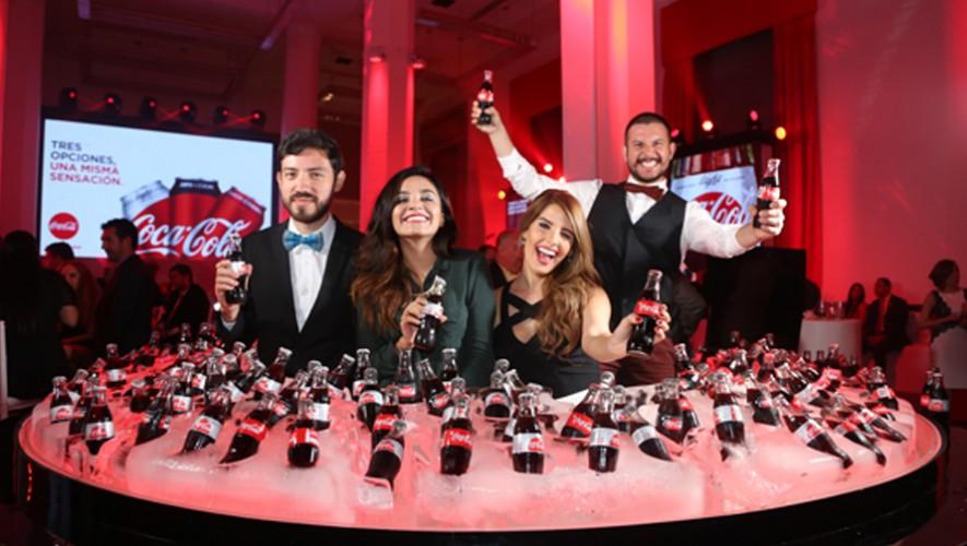 Los invitados centroamericanos. (Foto: Coca Cola Journey)