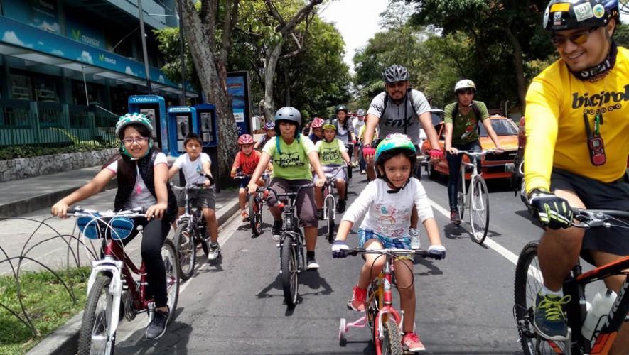 Colazo Familiar de bicicleta en Zona Portales | Julio 2016