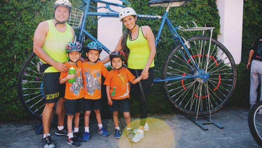 ExpoCicle: Colazo familiar en bicicleta   Julio 2016
