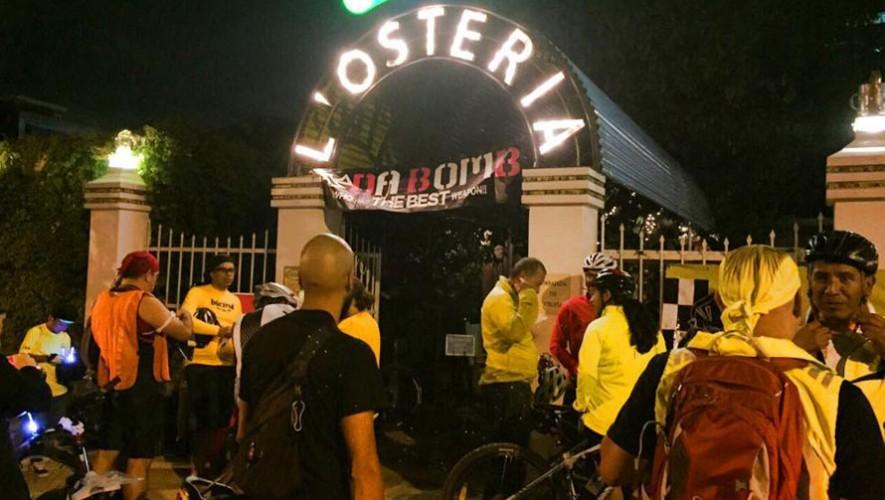 Expocicle: Colazo nocturno en bicicleta | Julio 2016